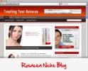Thumbnail Treating your Rosacea WordPress Niche Blog