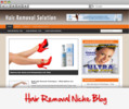 Thumbnail Hair Removal Solution Niche Blog
