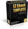Thumbnail EZ eBook Templates V9 (MRR)