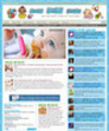 Thumbnail Baby Care Niche Website