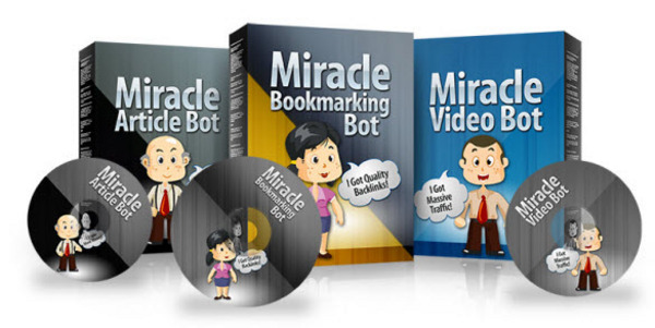 Pay for Miracle Traffic Bot Sales Machine