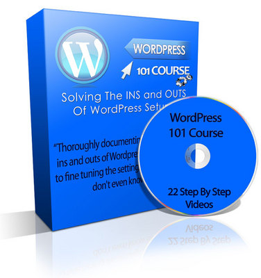 Pay for WordPress 101 Video Course