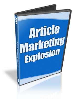 Pay for Article Marketing Explosion