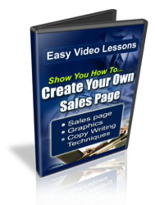 Pay for How To Create Your Own Sales Page