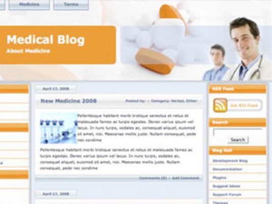 Pay for Medical Wordpress Blog Theme