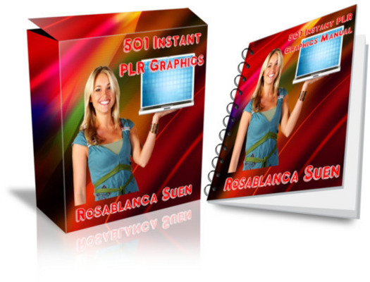 Pay for 501 Instant PLR Graphics Package
