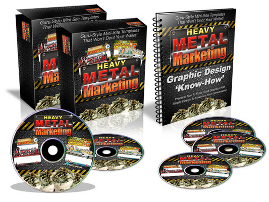Pay for Heavy Metal Marketing Templates - Master Resale Rights