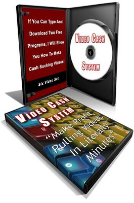 Pay for Video Cash System - Master Resell Rights