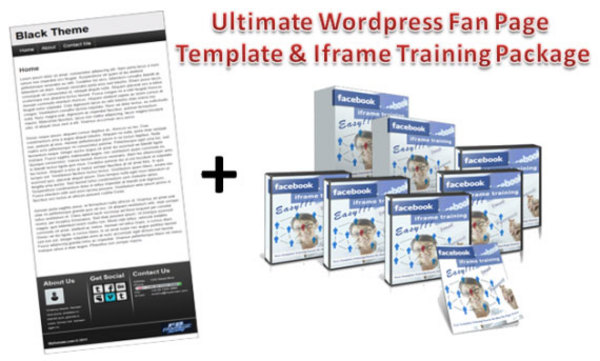 Pay for Complete FB Fan Page Iframe Training Course, Wordpress Theme