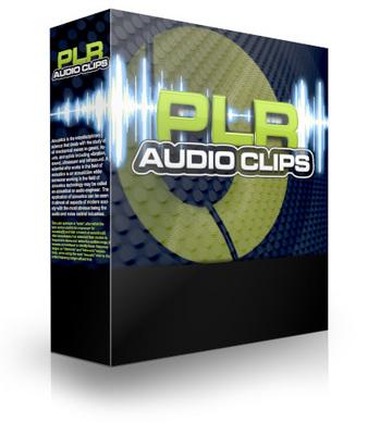 Pay for PLR Audio Clips - PLR