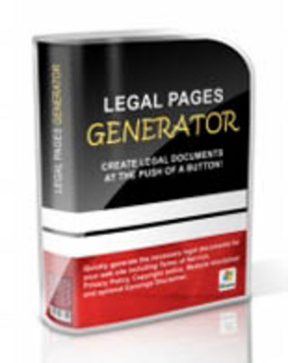 Pay for Legal Pages Generator