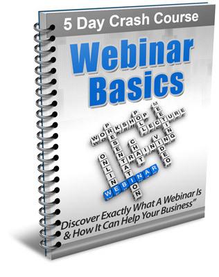 Pay for Webinar Basics - 5 Day eCourse (PLR)