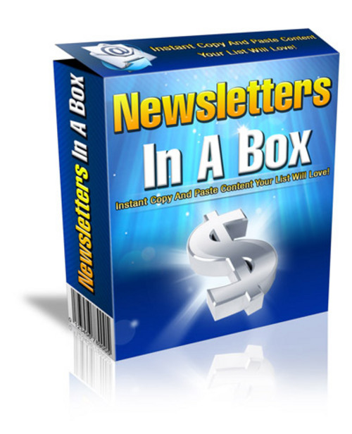Pay for Newsletters In A Box