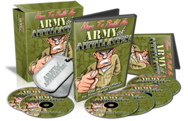 Pay for How To Build An Army Of Affiliates
