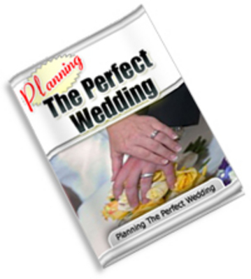 Pay for Planning The Perfect Wedding