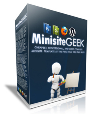 Pay for Minisite Geek Ultimate