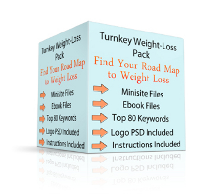 Pay for Turnkey Weight Loss Pack