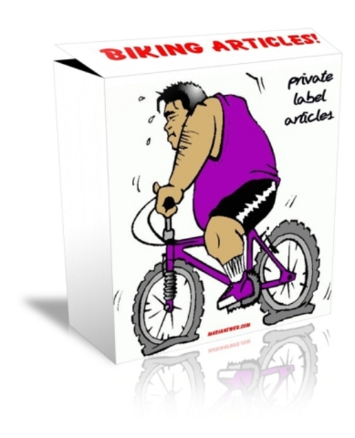 Pay for 230+ Biking Articles PLR - Less than 1.3 cents/Article