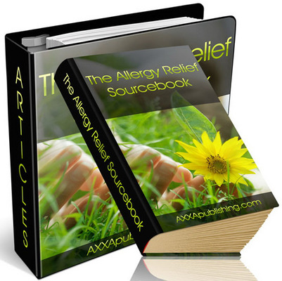 Pay for ****The Allergy Relief Sourcebook with (PLR)***