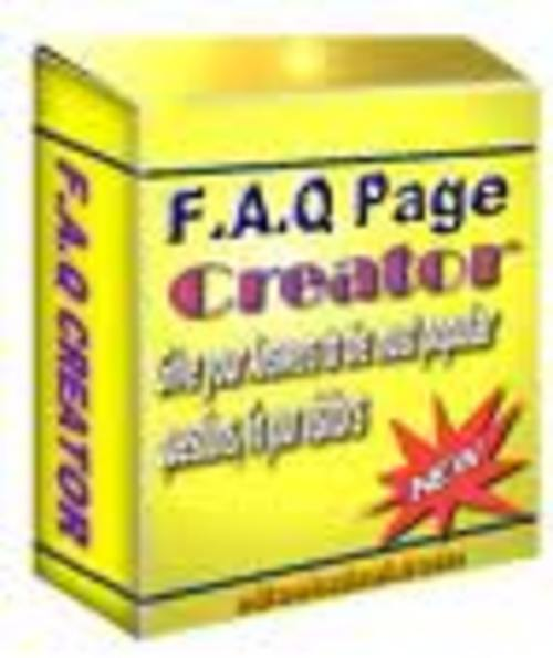 Pay for FAQ PAGE Website Script