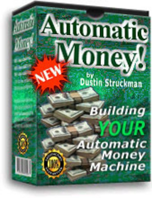 Pay for Secret Formula for creating your very own Automatic Money Machine!