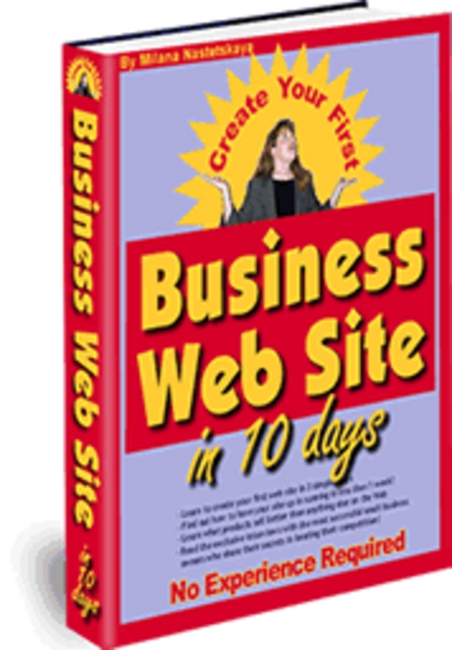 Pay for The easiest way EVER to create  your own Business web site