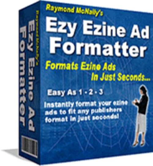 Pay for Ezy Ezine Ad Formatter