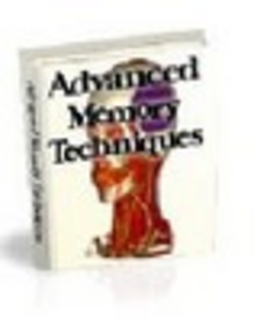 Pay for ADVANCED MEMORY TECHNIQUES