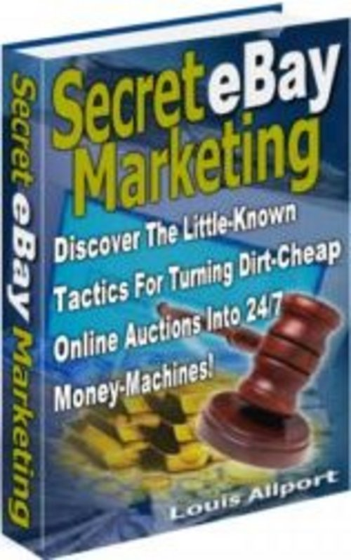 Pay for Secret eBay Marketing