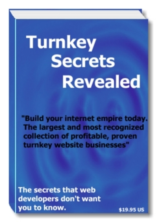 Pay for Introducing the World´s First Turnkey Secrets Revealed  The