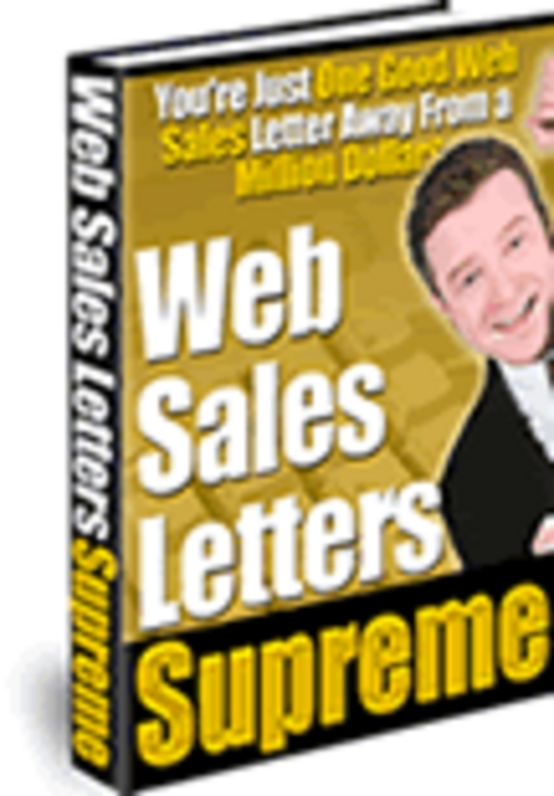 Pay for  Successful Web Sales Letters