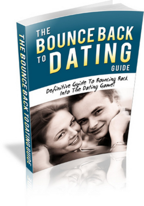Pay for New The Bounce Back To Dating Guide With Mrr