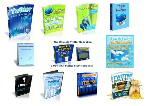 Pay for Twitter Ebooks Info Bundle Ebooks Guides Plr