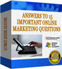 Thumbnail 15 Marketing Questions Answered with FULL PLR+MYSTERY BONUS