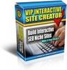 Thumbnail VIP Interactive Site Creator - with PLR + MYSTERY BONUS!