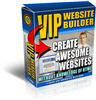 Thumbnail VIP Website Builder Software - with PLR + MYSTERY BONUS!