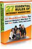 Thumbnail 27 Essential Rules of Internet Marketing - MRR + 2 BONUSES!