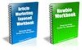 Thumbnail Newbie Workbook and Article Marketing Workbook - PLR+BONUSES