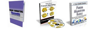 Thumbnail Ultimate Forum Marketing Secrets Pack + 2 Mystery BONUSES!