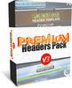 Thumbnail 25 Premium Headers Pack4 - with 2 Mystery BONUSES!