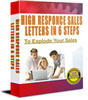 Thumbnail High Response Sales Letters in 6 Steps - with PLR + BONUSES!