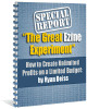 Thumbnail The Great Ezine Experiment - with MRR + 2 Mystery BONUSES!