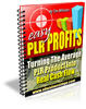Thumbnail Easy PLR Profits - Master Resell Rights + 2 Mystery BONUSES!