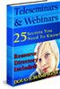 Thumbnail Teleseminars and Webinars - 25 Secrets You Must Know (MRR)