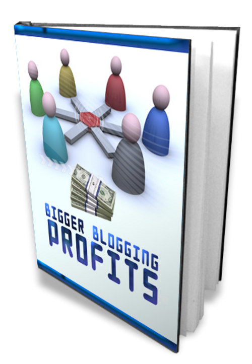 Pay for Bigger Blogging Profits-Master Resell Rights + Mystery BONUS
