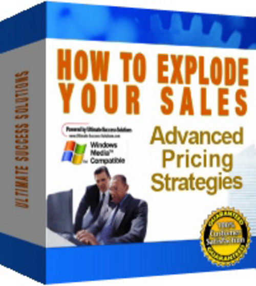 Pay for How to Explode Your Sales with FULL PLR+MYSTERY BONUS