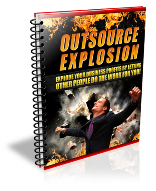 Pay for Outsource Explosion - with Master Resell Rights + BONUS!