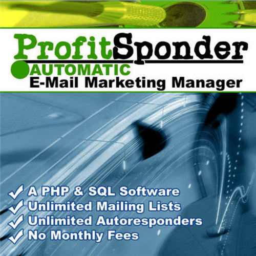 Pay for ProfitSponder Mailing List and Autoresponder Script - MRR!