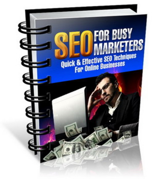 Pay for SEO For Busy Marketers - with Master Resell Rights + BONUS