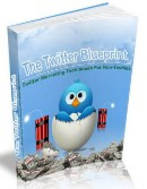 Pay for Twitter Profit Blueprint - with Private Label Rights + BONUS